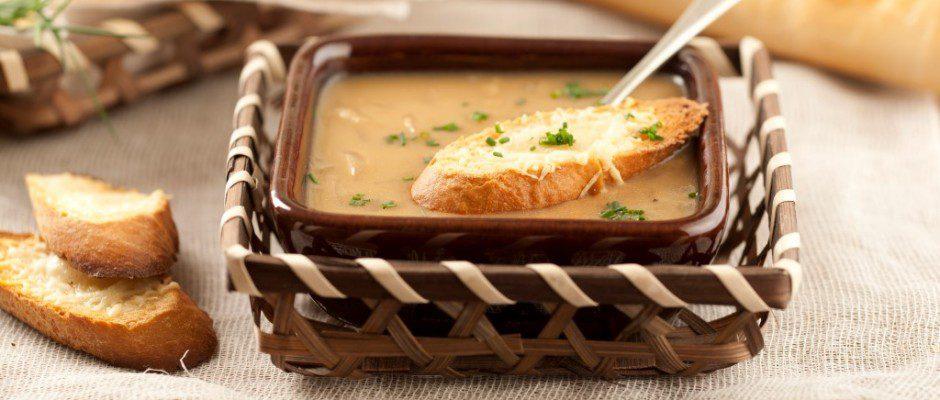 sopa de cebollas