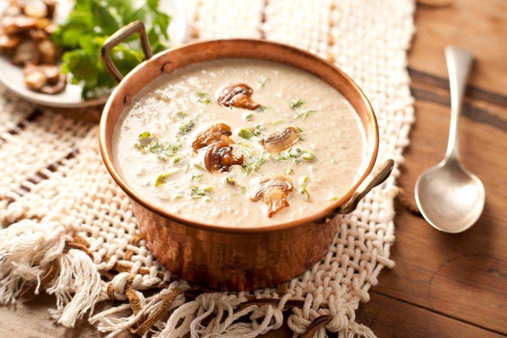 sopa de champi