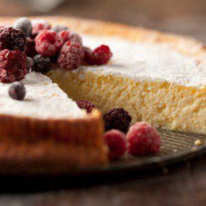 torta souffle de ricota
