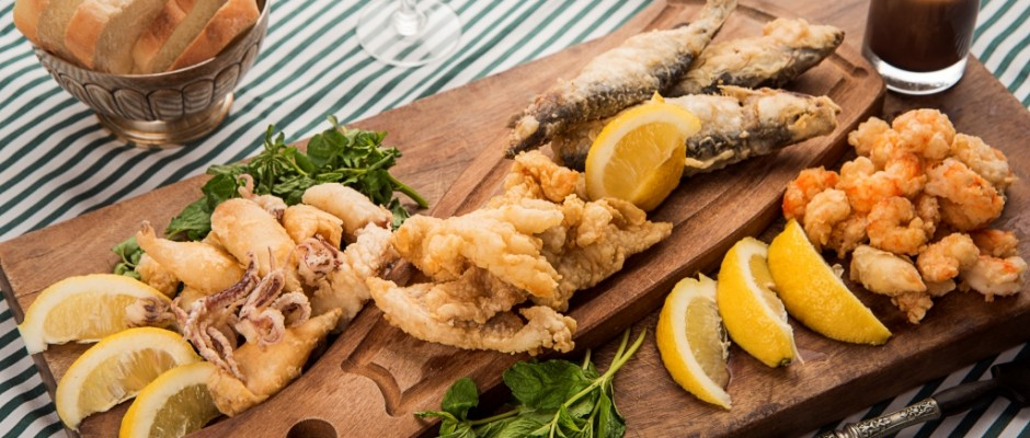 fritura de pescados