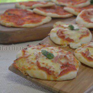 Pizzetas para chicos